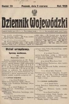 Dziennik Wojewódzki. 1928, nr23