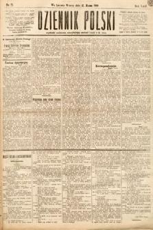 Dziennik Polski. 1889, nr71