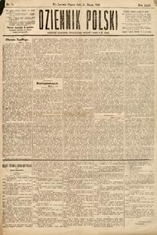 Dziennik Polski. 1889, nr74