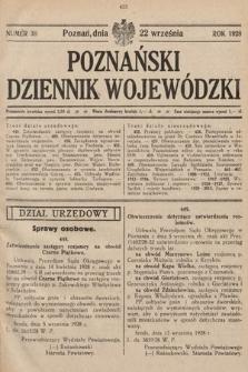Poznański Dziennik Wojewódzki. 1928, nr38