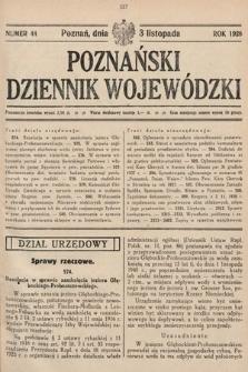 Poznański Dziennik Wojewódzki. 1928, nr44