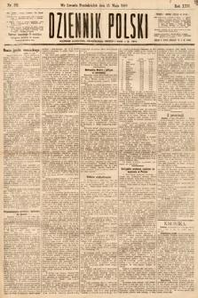 Dziennik Polski. 1889, nr132
