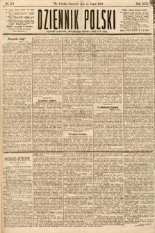 Dziennik Polski. 1889, nr204
