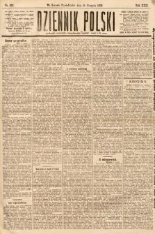Dziennik Polski. 1889, nr229