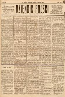 Dziennik Polski. 1889, nr249