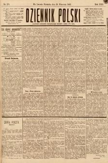 Dziennik Polski. 1889, nr270