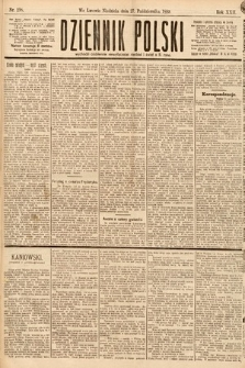 Dziennik Polski. 1889, nr298