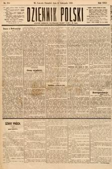 Dziennik Polski. 1889, nr316