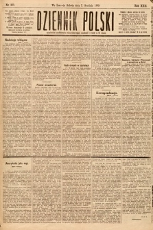 Dziennik Polski. 1889, nr339