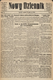 Nowy Dziennik. 1920, nr29