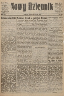 Nowy Dziennik. 1920, nr33