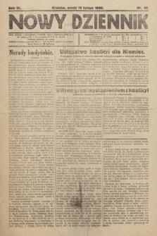 Nowy Dziennik. 1920, nr46