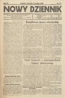 Nowy Dziennik. 1920, nr47