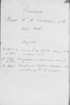 Dziennik Praw. 1846