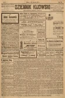 Dziennik Kijowski : pismo społeczne, polityczne i literackie. 1913, nr3