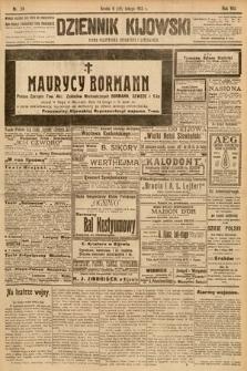 Dziennik Kijowski : pismo społeczne, polityczne i literackie. 1913, nr34