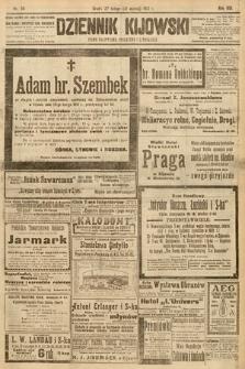 Dziennik Kijowski : pismo społeczne, polityczne i literackie. 1913, nr55