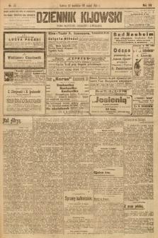 Dziennik Kijowski : pismo społeczne, polityczne i literackie. 1913, nr110