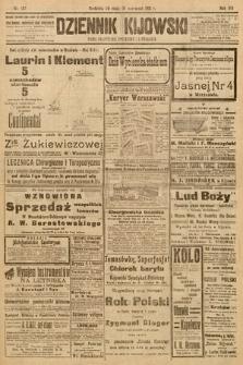 Dziennik Kijowski : pismo społeczne, polityczne i literackie. 1913, nr137