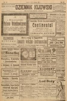 Dziennik Kijowski : pismo społeczne, polityczne i literackie. 1913, nr145