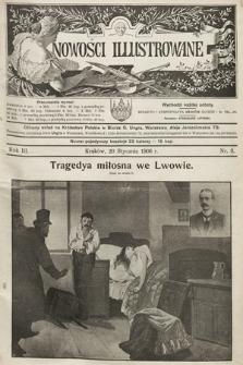 Nowości Illustrowane. 1906, nr3
