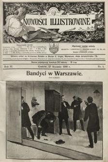 Nowości Illustrowane. 1906, nr4