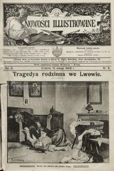 Nowości Illustrowane. 1906, nr6