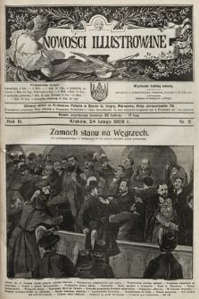 Nowości Illustrowane. 1906, nr8