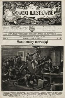 Nowości Illustrowane. 1906, nr12