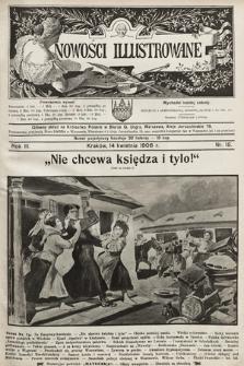 Nowości Illustrowane. 1906, nr15
