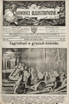Nowości Illustrowane. 1906, nr16