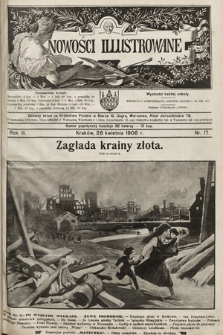 Nowości Illustrowane. 1906, nr17