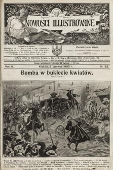 Nowości Illustrowane. 1906, nr23