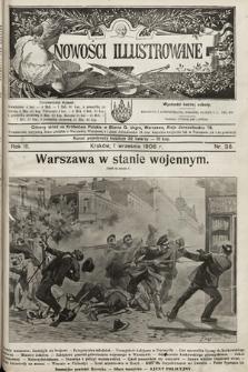 Nowości Illustrowane. 1906, nr35