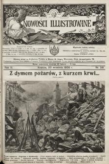 Nowości Illustrowane. 1906, nr38
