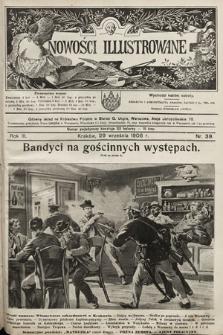 Nowości Illustrowane. 1906, nr39