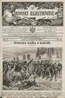 Nowości Illustrowane. 1906, nr40