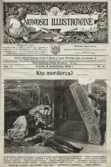 Nowości Illustrowane. 1906, nr41