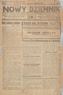 Nowy Dziennik. 1922, nr1