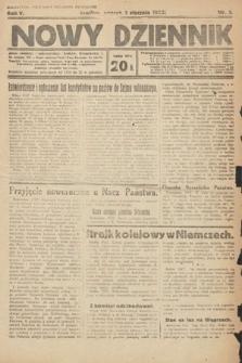 Nowy Dziennik. 1922, nr3