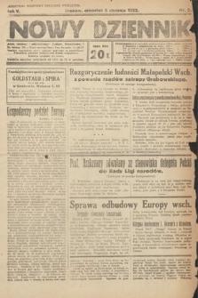 Nowy Dziennik. 1922, nr5