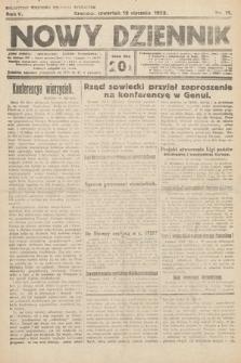 Nowy Dziennik. 1922, nr11