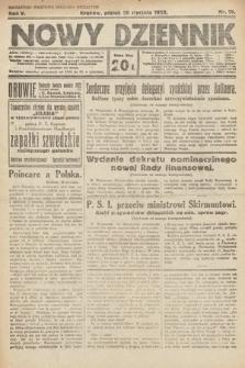 Nowy Dziennik. 1922, nr19