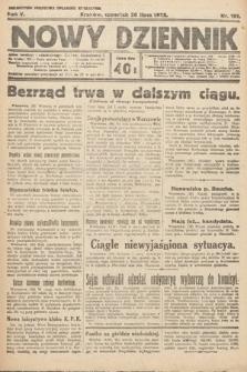 Nowy Dziennik. 1922, nr191