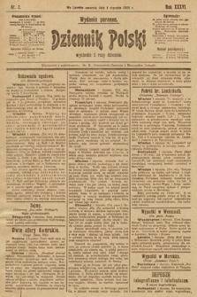 Dziennik Polski (wydanie poranne). 1903, nr2