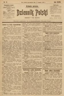 Dziennik Polski (wydanie poranne). 1903, nr18