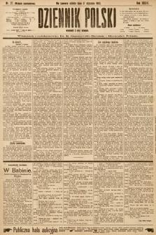 Dziennik Polski (wydanie popołudniowe). 1903, nr27