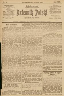 Dziennik Polski (wydanie poranne). 1903, nr34