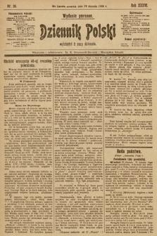 Dziennik Polski (wydanie poranne). 1903, nr36