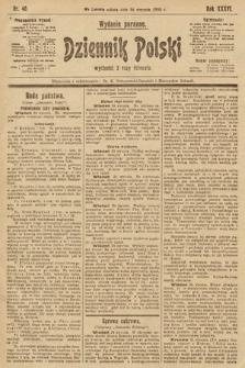 Dziennik Polski (wydanie poranne). 1903, nr40